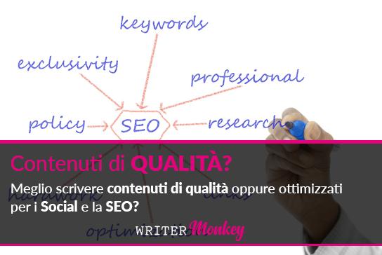 Scrivere per il web con contenuti di qualità