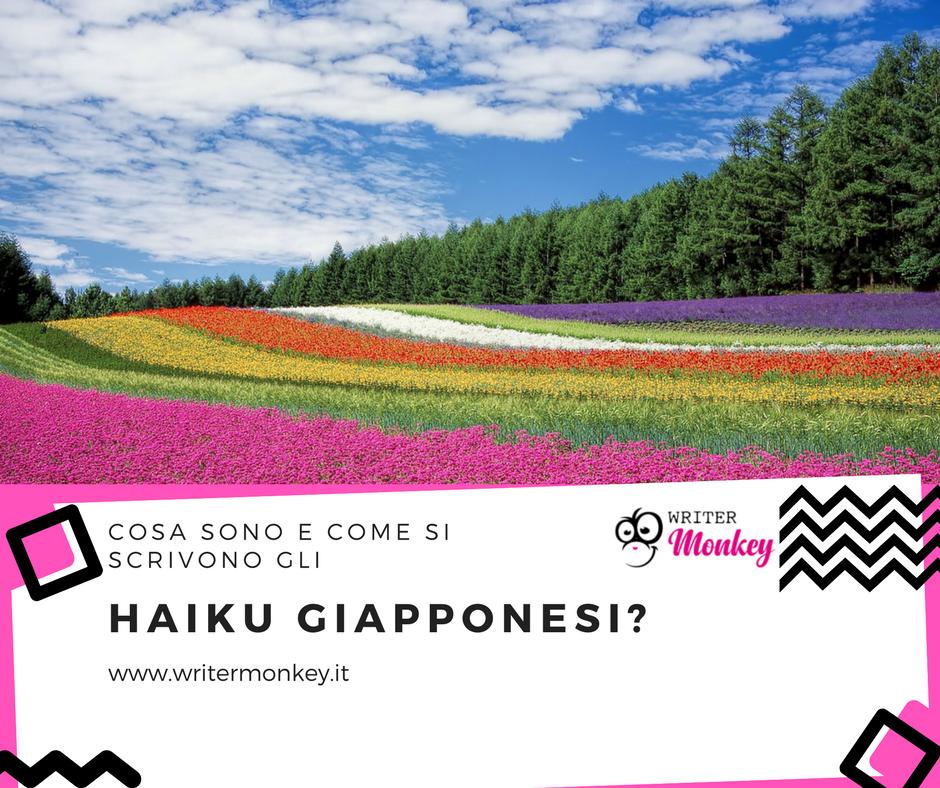 Haiku, le poesie brevi giapponesi