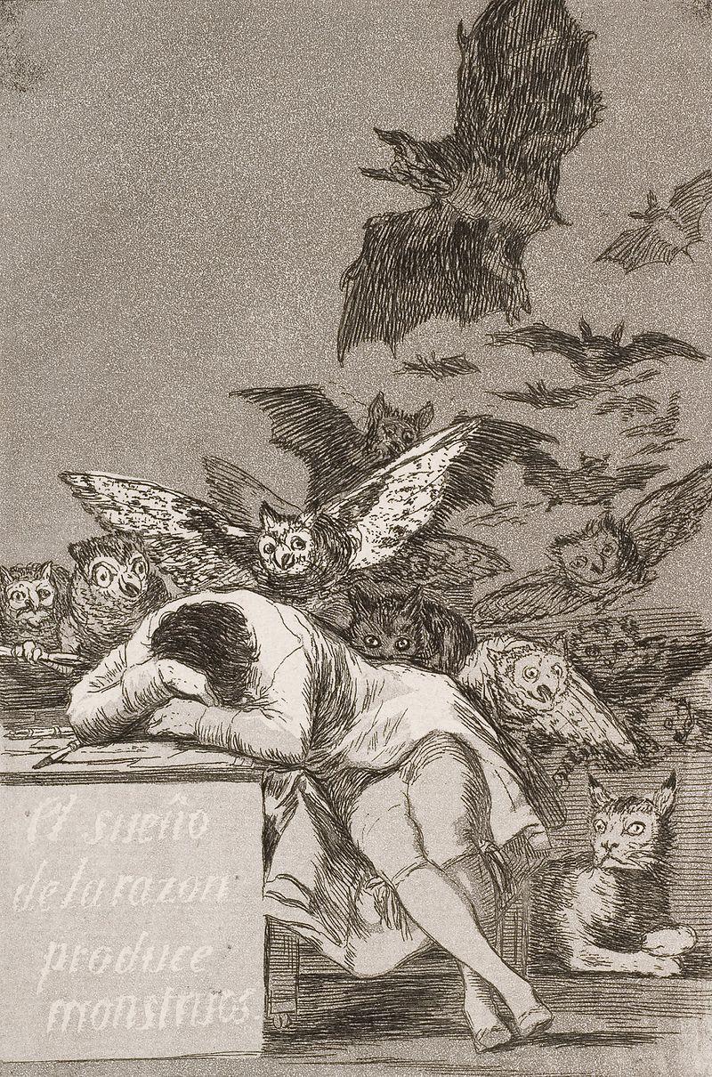 Cattive abitudini: il sonno della ragione…