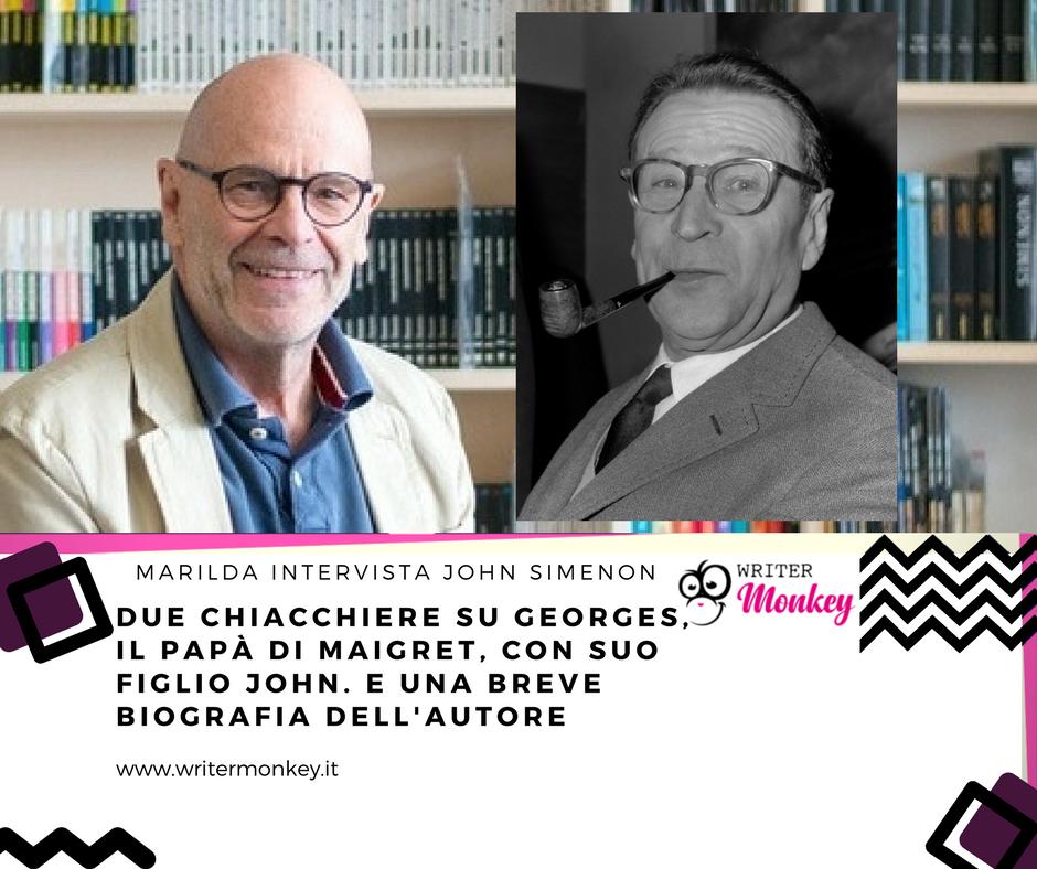 Intervista a John Simenon e biografia breve di Georges