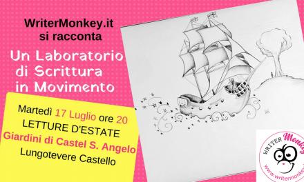 Writer Monkey a Castel S. Angelo. Domani.